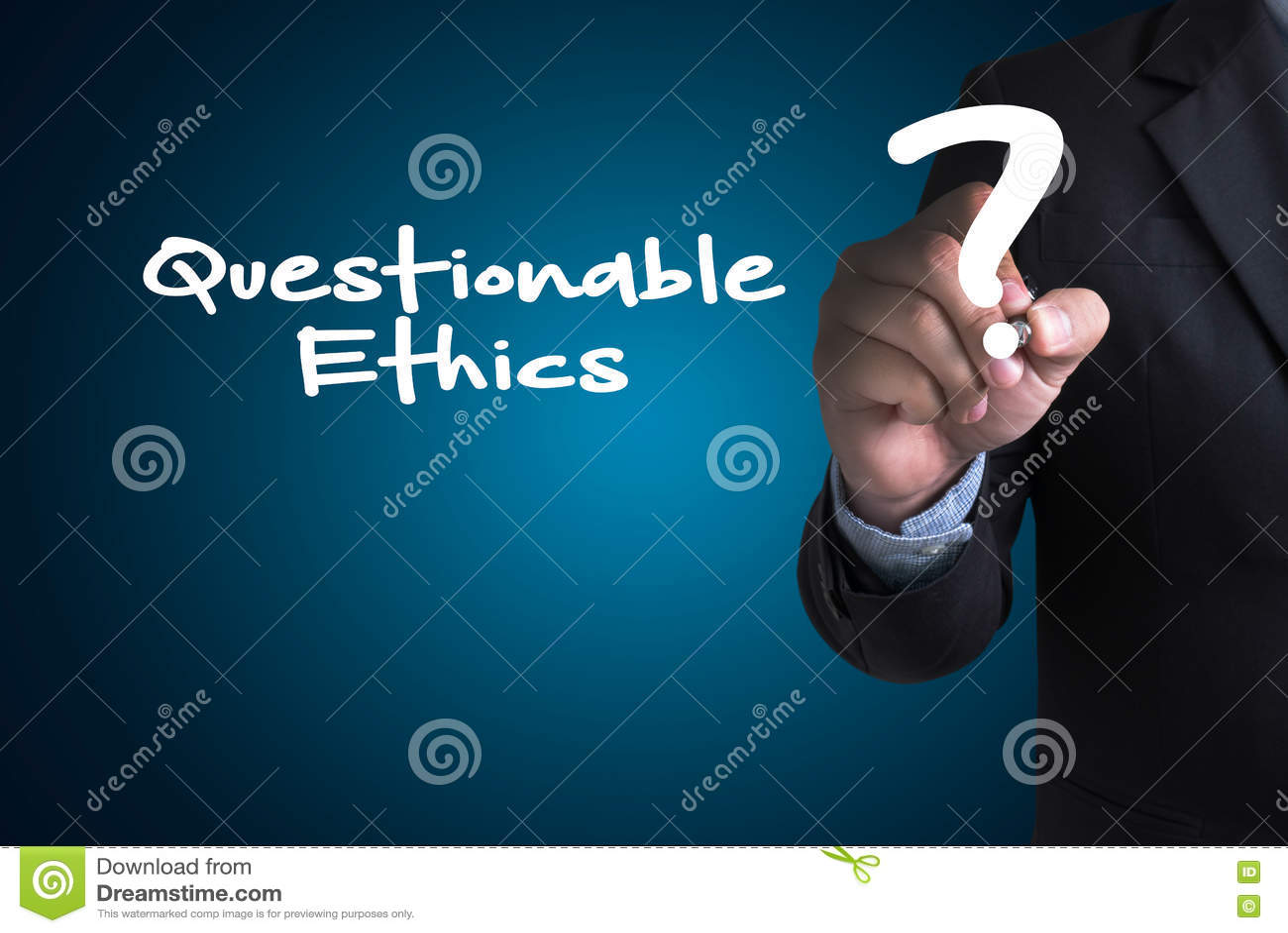 Tvivelaktiga etik