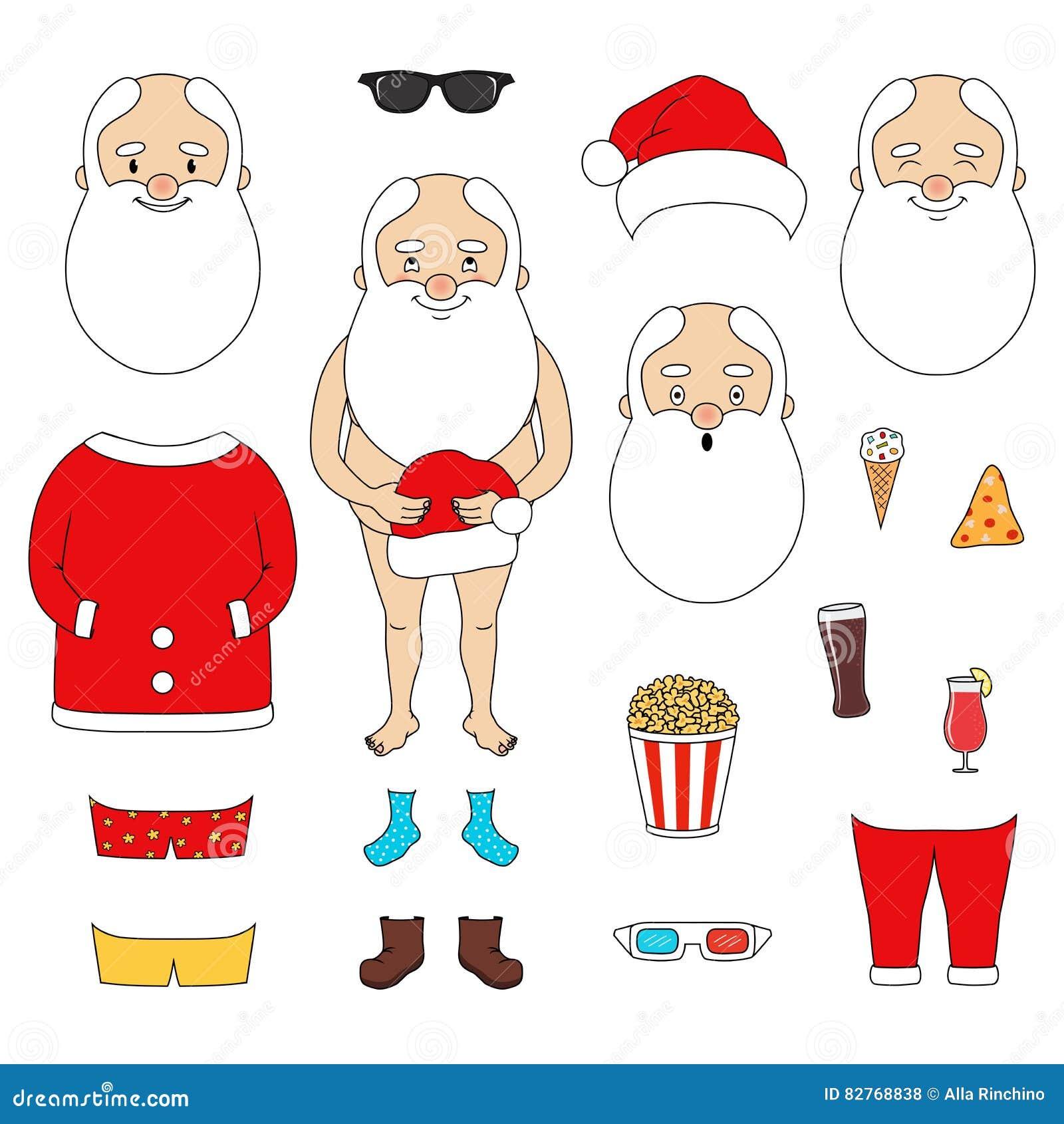 Twórcy Święty Mikołaj set