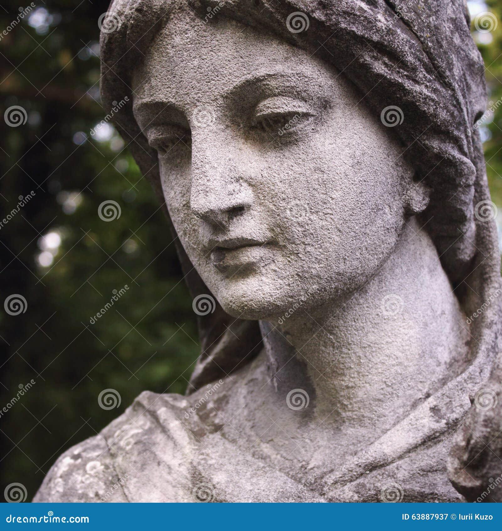 Twarz bogini miłości Aphrodite (Wenus)
