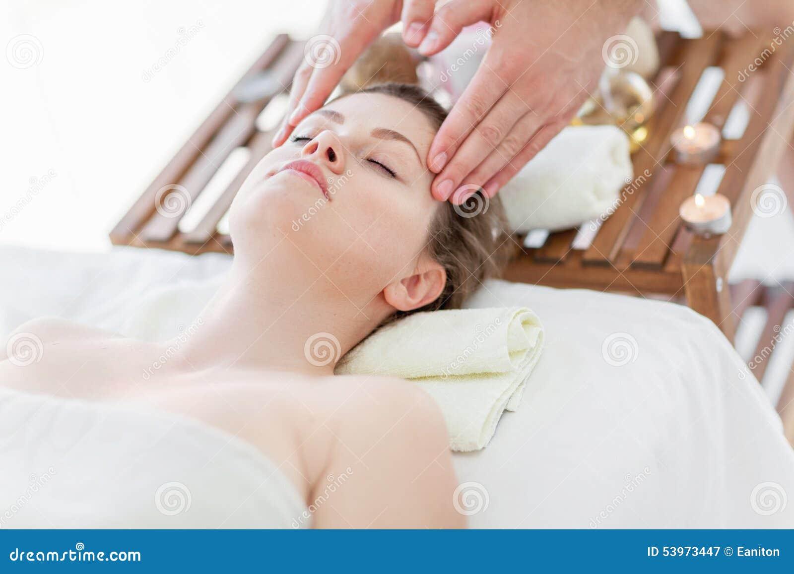 Twarz masaż