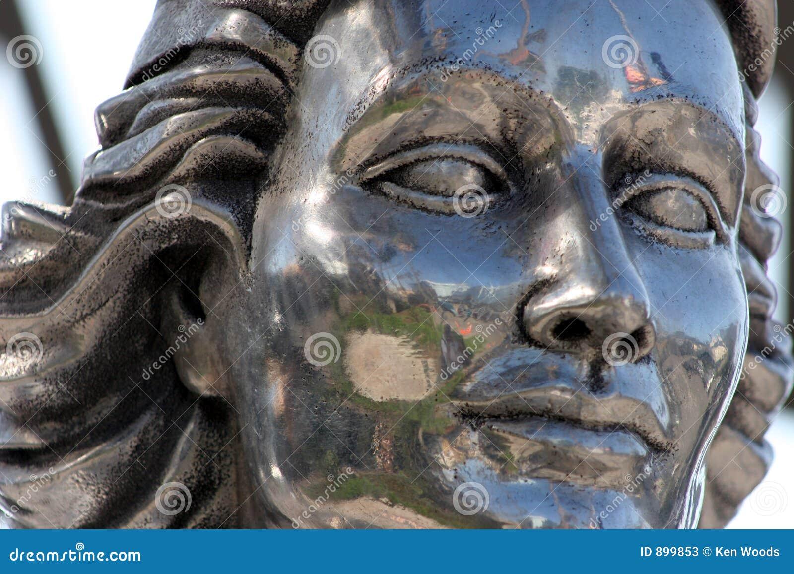 Twarz posągów kamień