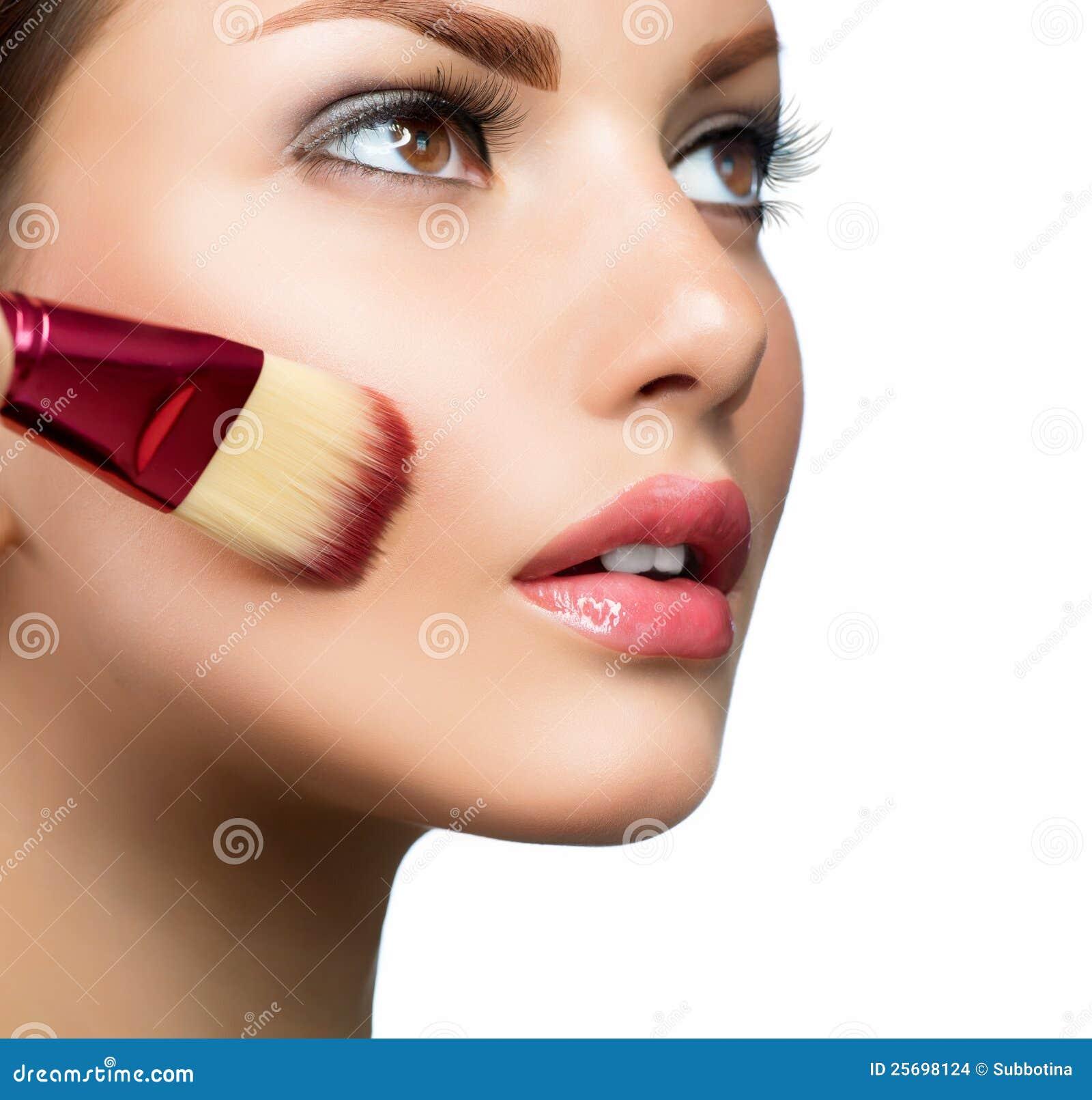Twarz robi makeup robić