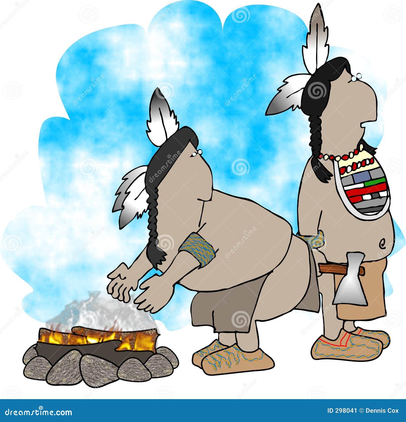 Twee Indianen