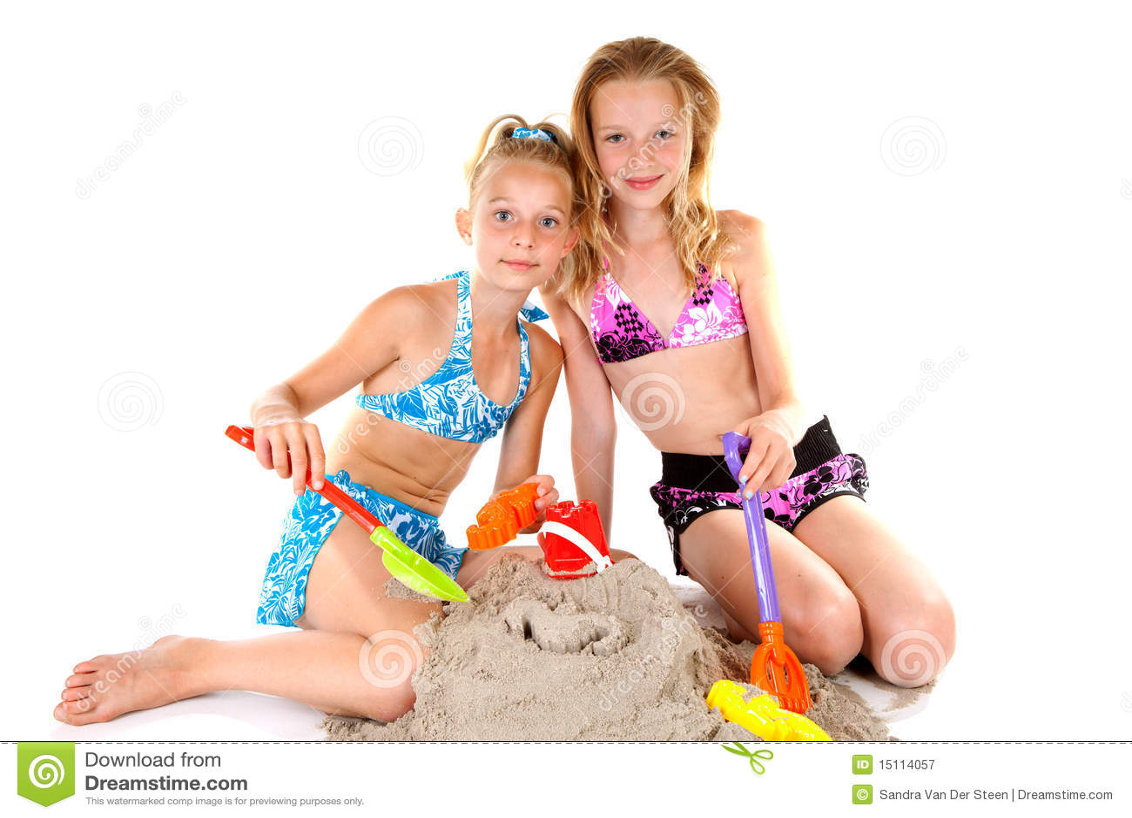 Nacked jonge meisjes