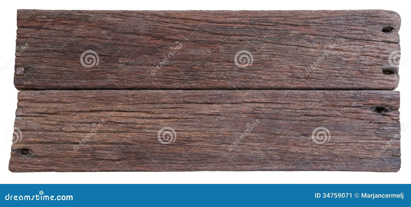 Twee Oude Planken Van Drijfhout Stock Afbeelding   Beeld  34759071
