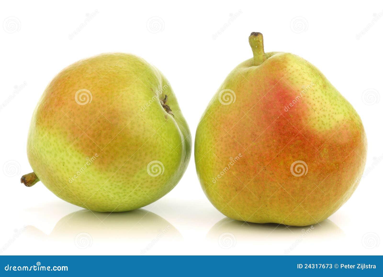 Twee Peren van Anjou