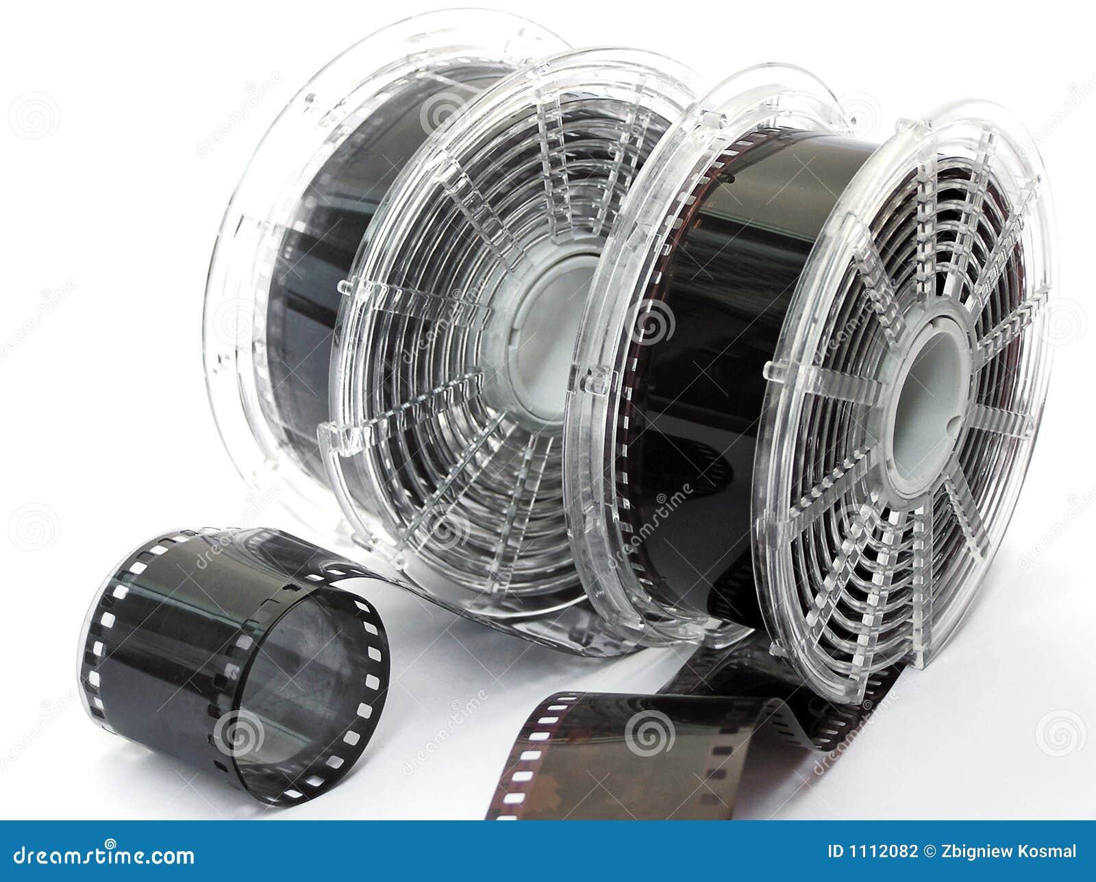 Twee spoelen van film
