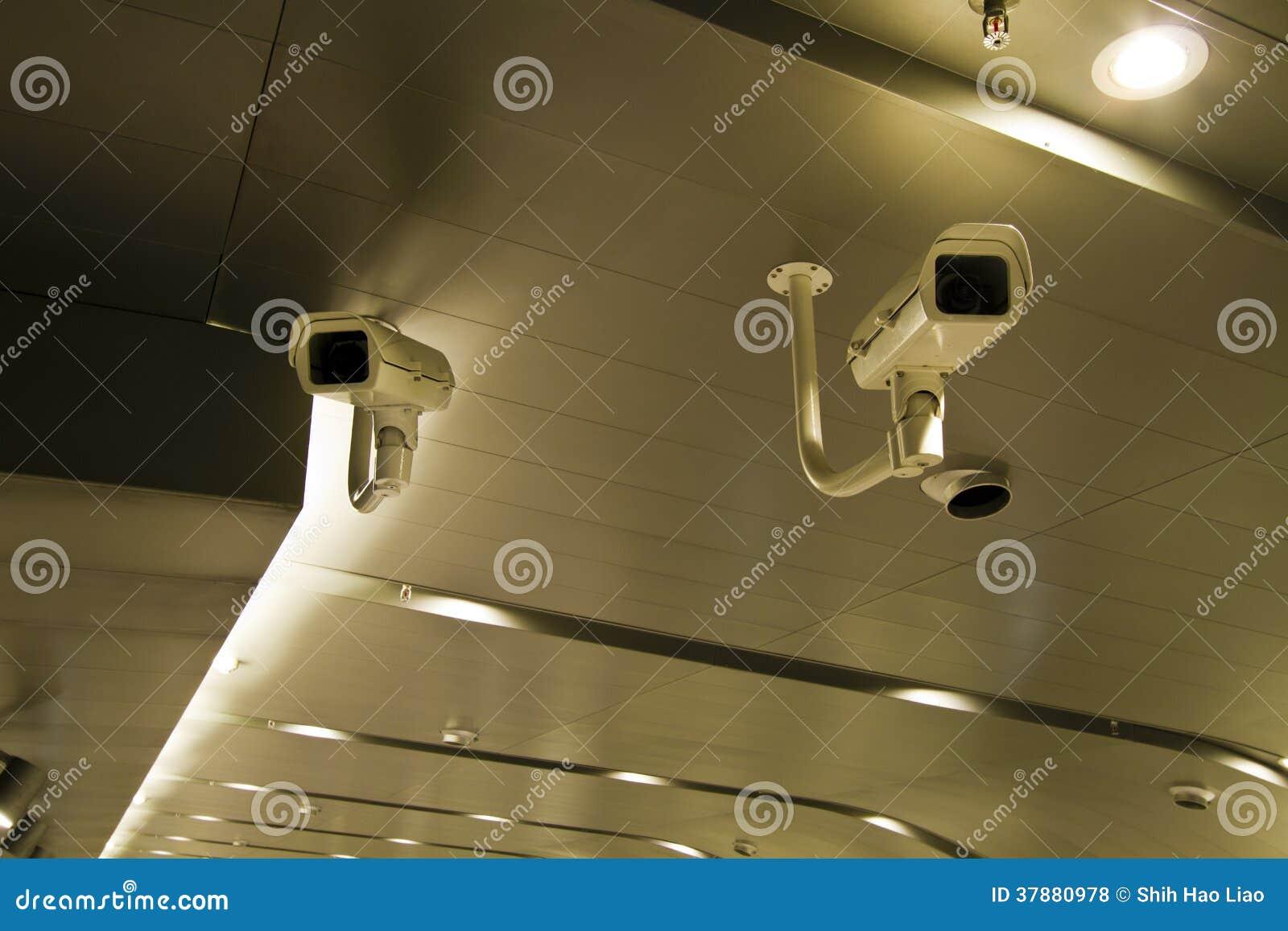 Twee veiligheidscamera