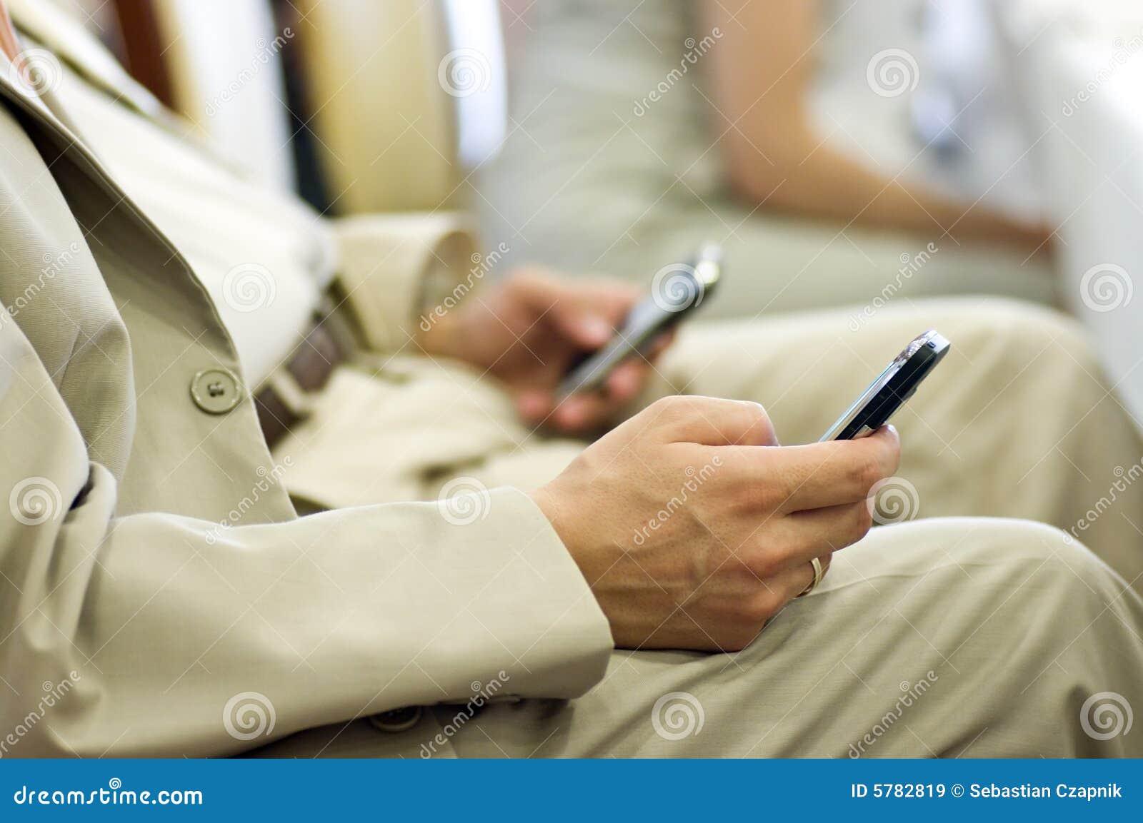 Tweeling mobiele telefoons
