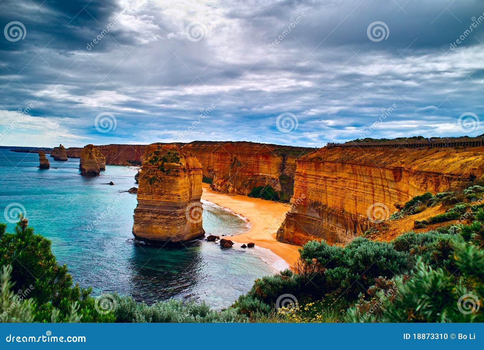 Twelve Apostles on the Great Ocean Road