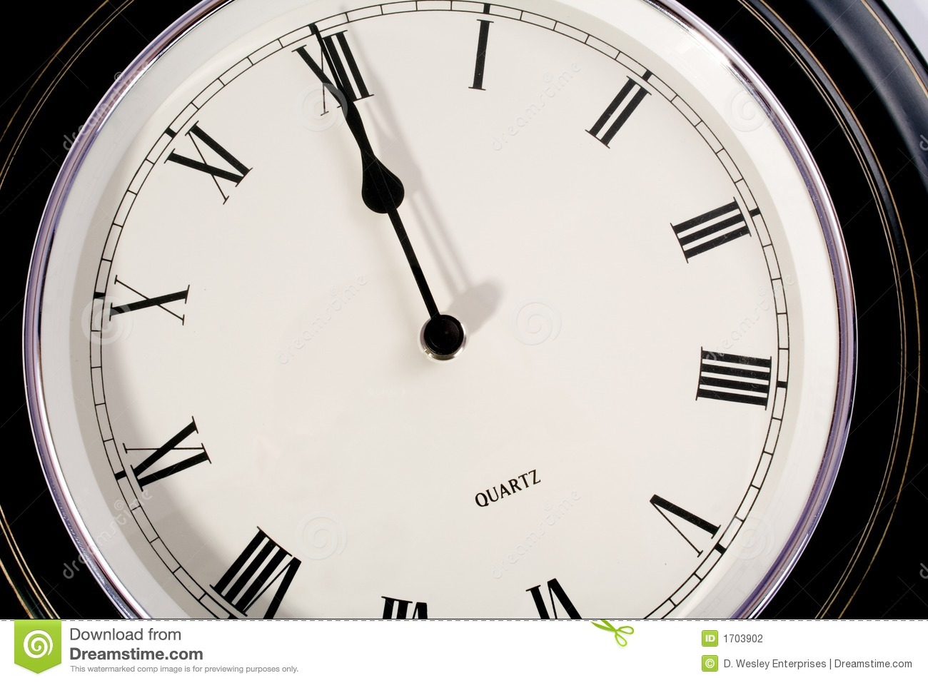Twelve O Clock Stock Photo Image Of Midday Time Clock