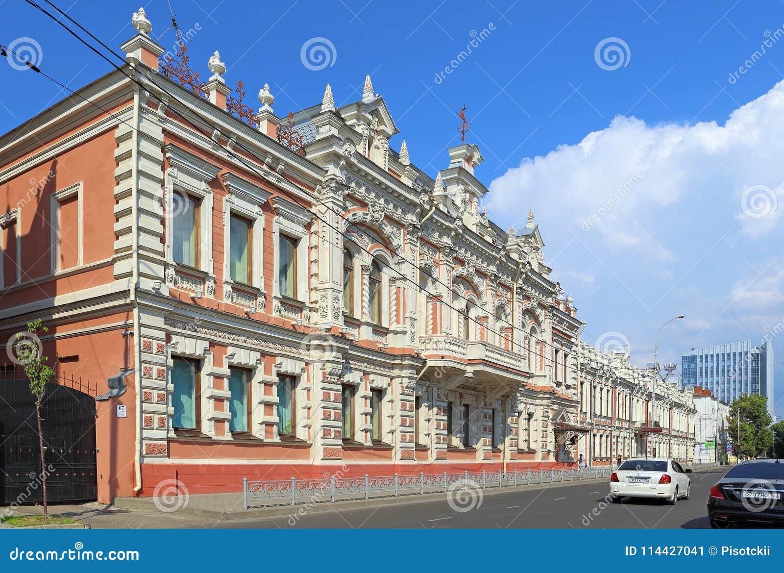 Twierdzi dziejowego i archeologicznego Muzealnego letniego dzień w Krasnod