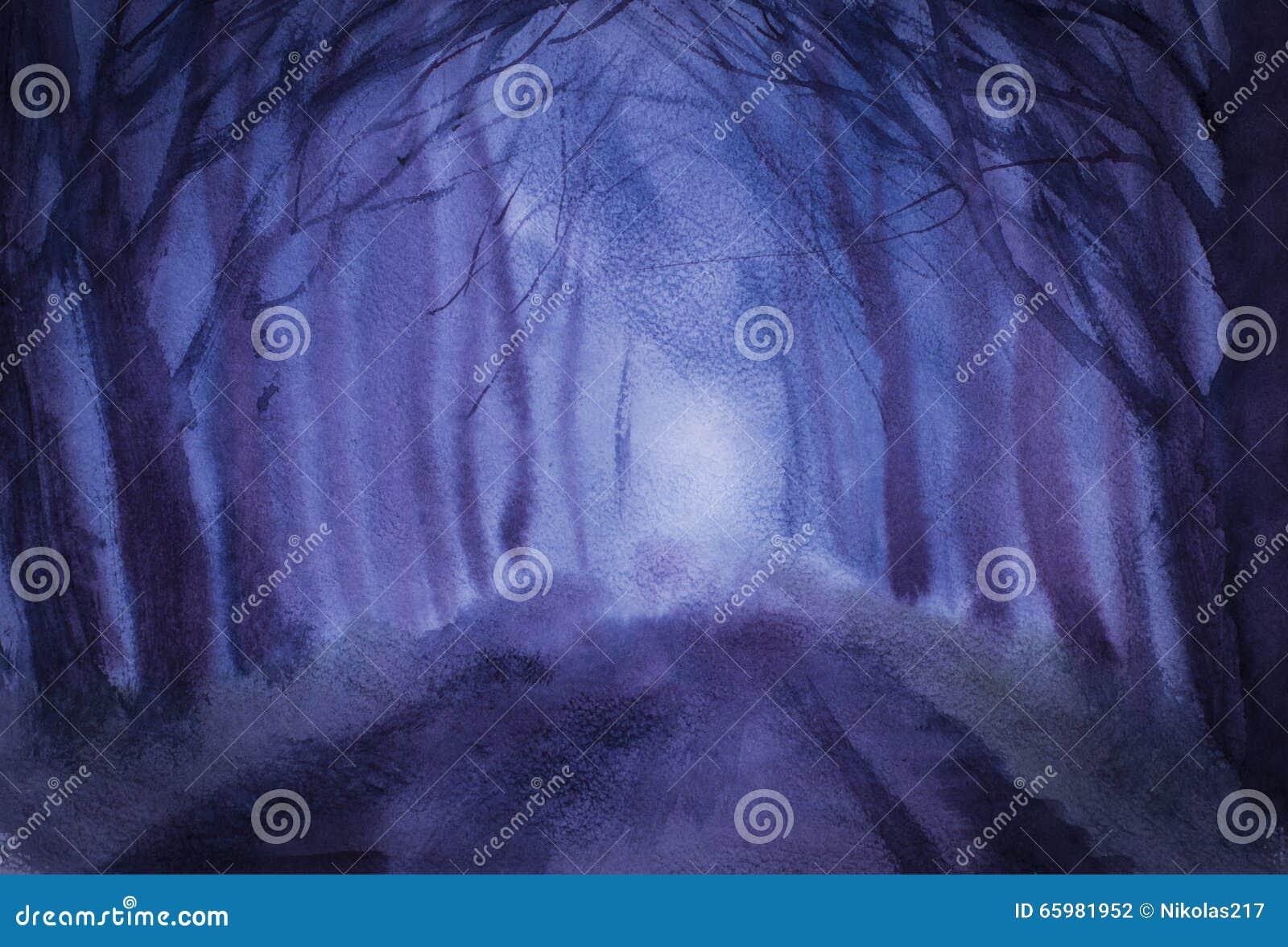 Twilight деревья и дорога