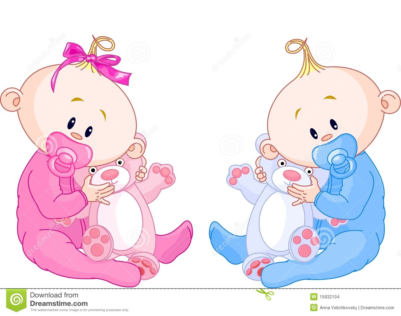 Sweet twins royalty free stock photo image 10320675 - Twin Babies Stock Images