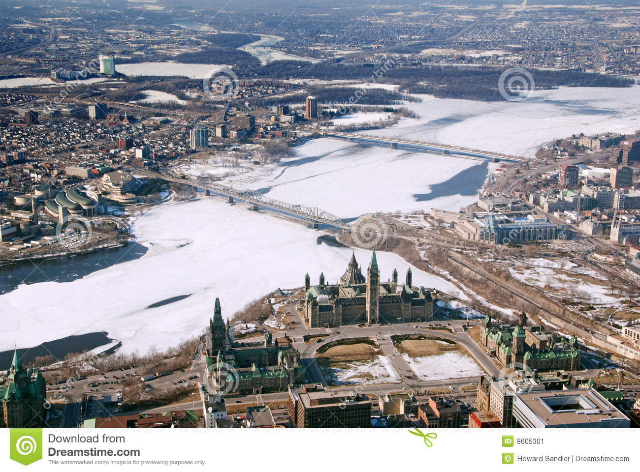 gatineau qc_Twin Cities Ottawa Ontario And Gatineau Quebec Stock Image - Image of aerial ...