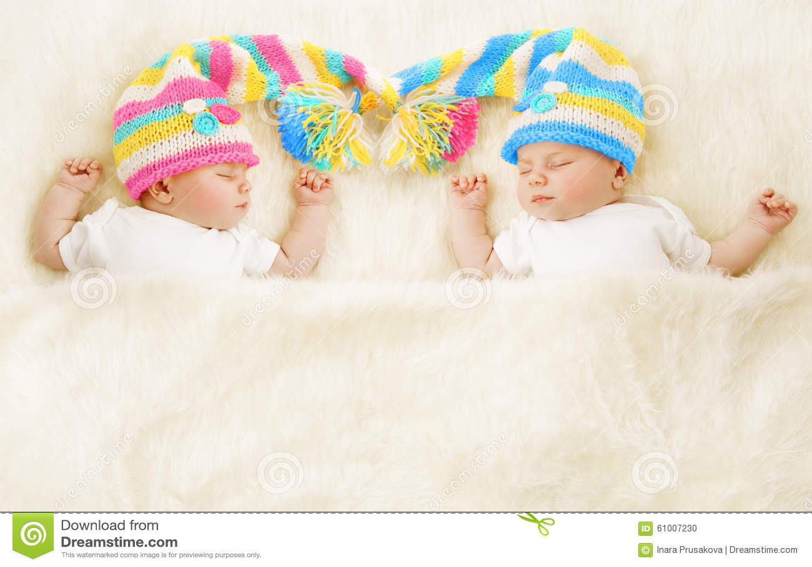 Twins Babies Sleep Hat, Newborn Kids Sleeping, Cute New ...