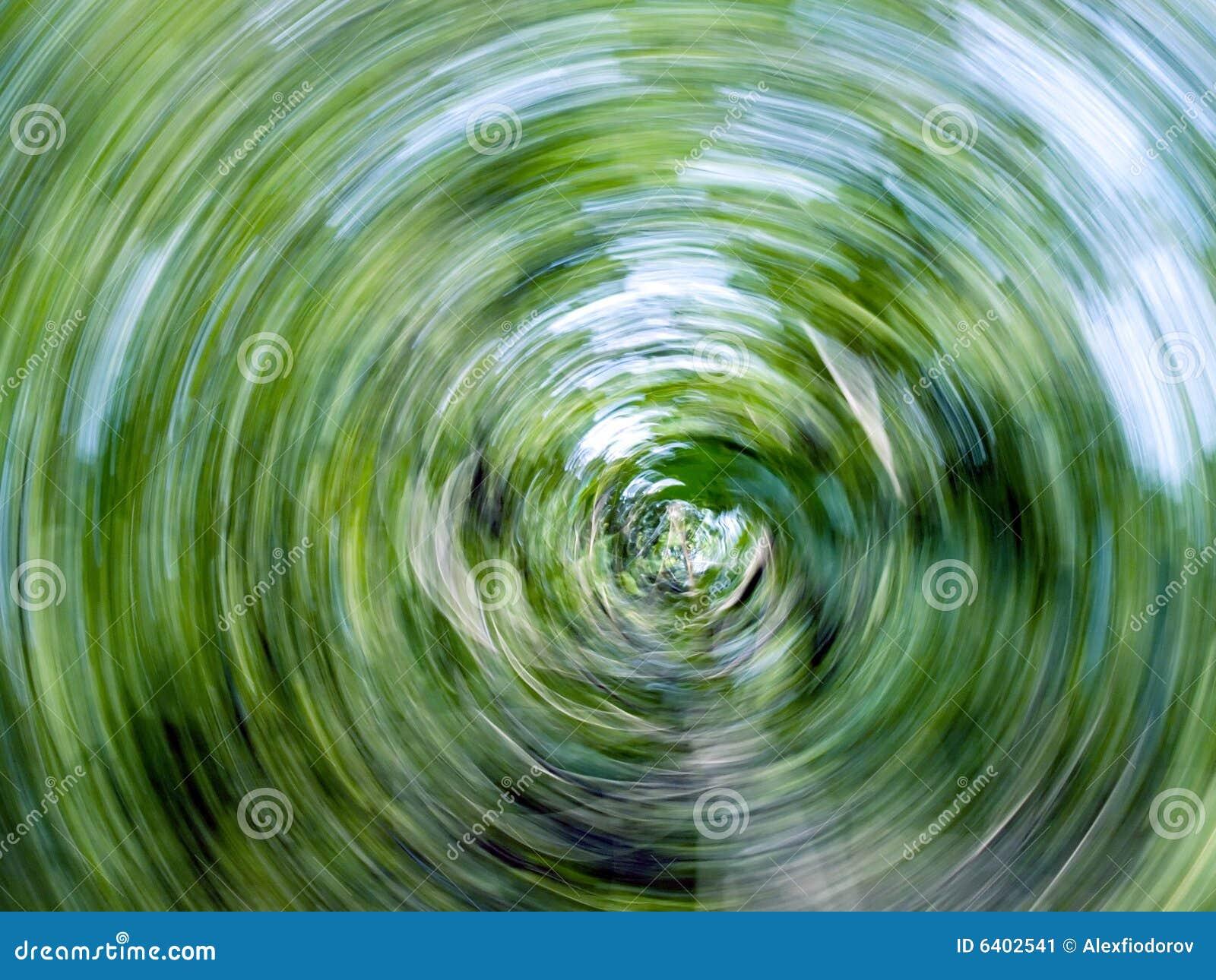Twirl abstrato da natureza.