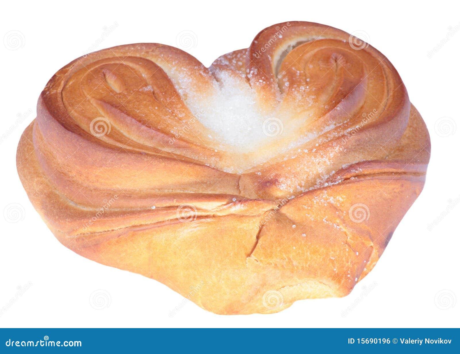 Twistbulle med hjärtaform
