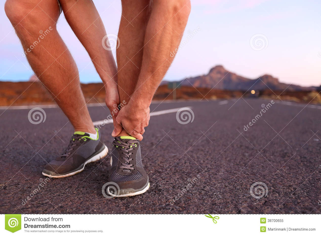 Ankle and foot pain no injury