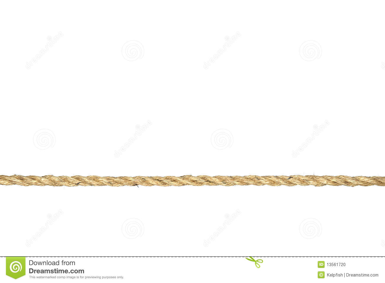 Straight Line String Art : Twisted manila rope isolated on white stock photo image