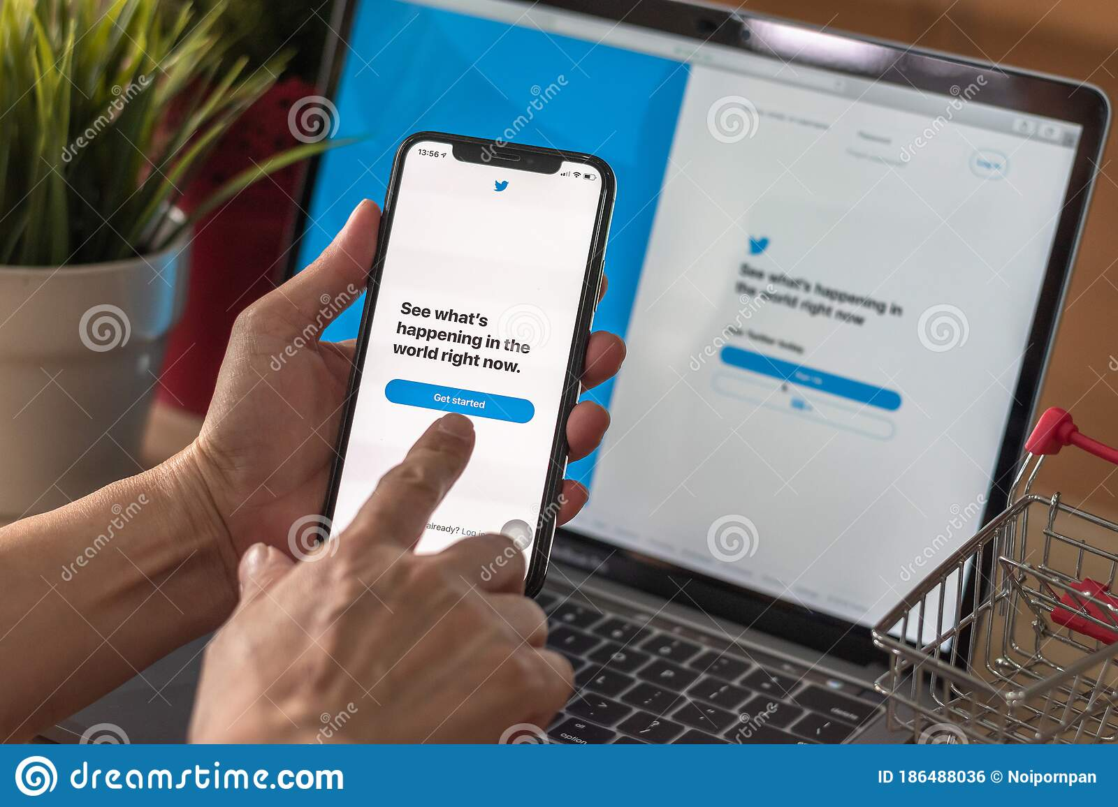 Search social media by phone number