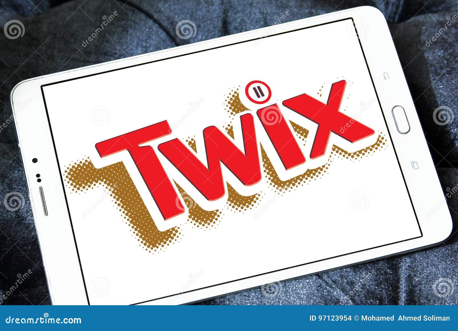Twix chocolate brand logo editorial stock image  Image of