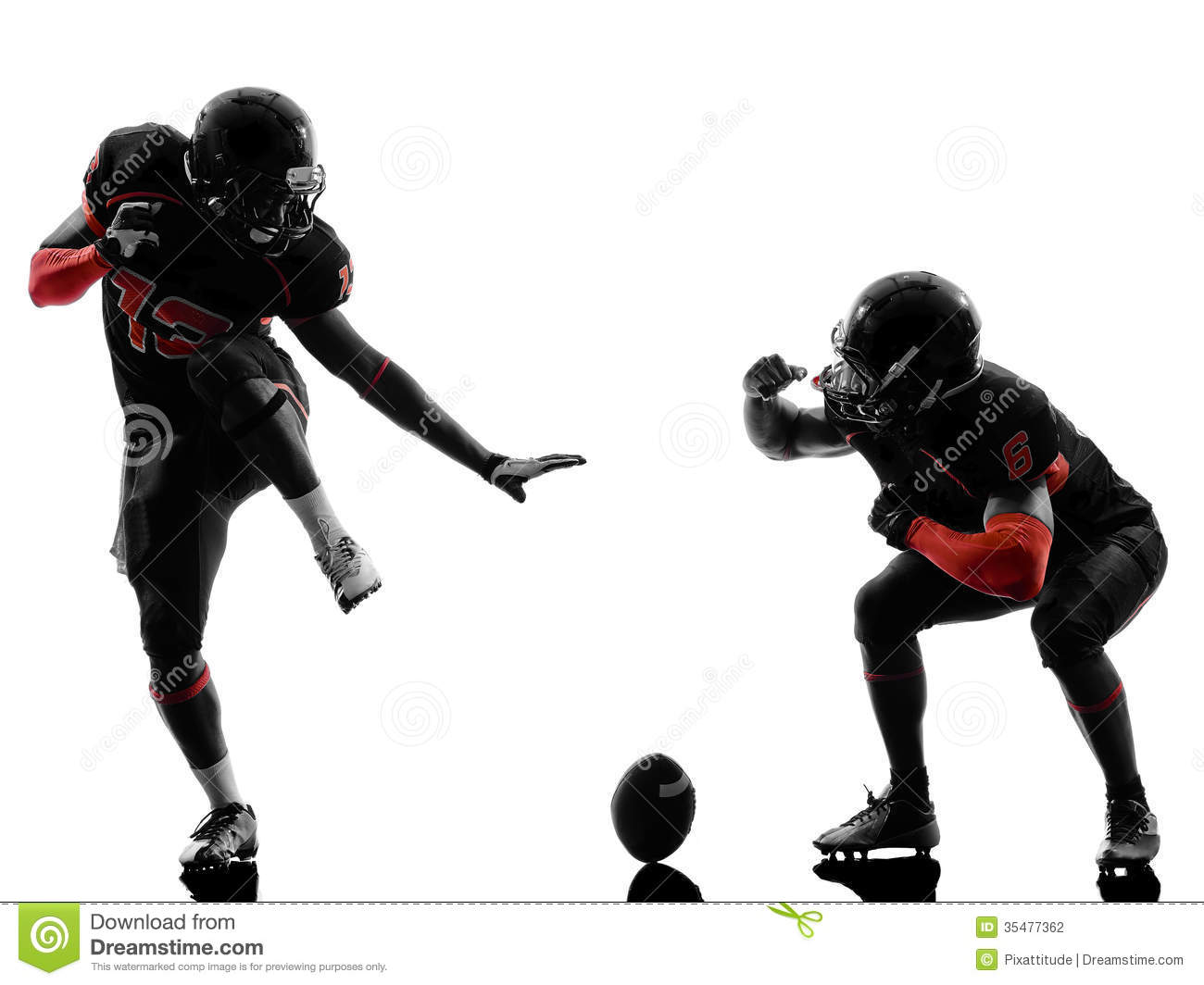 Nfl Football Players Wallpapers Clipart Panda Free Clipart: Two American Football Players Touchdown Celebration