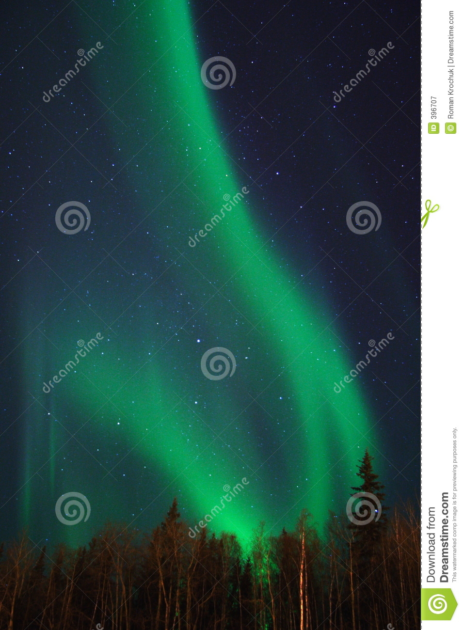 Two arcs of aurora
