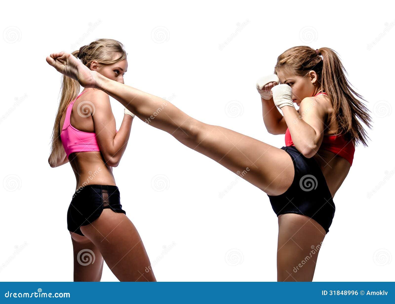 Two girl fighting thx. ;-)