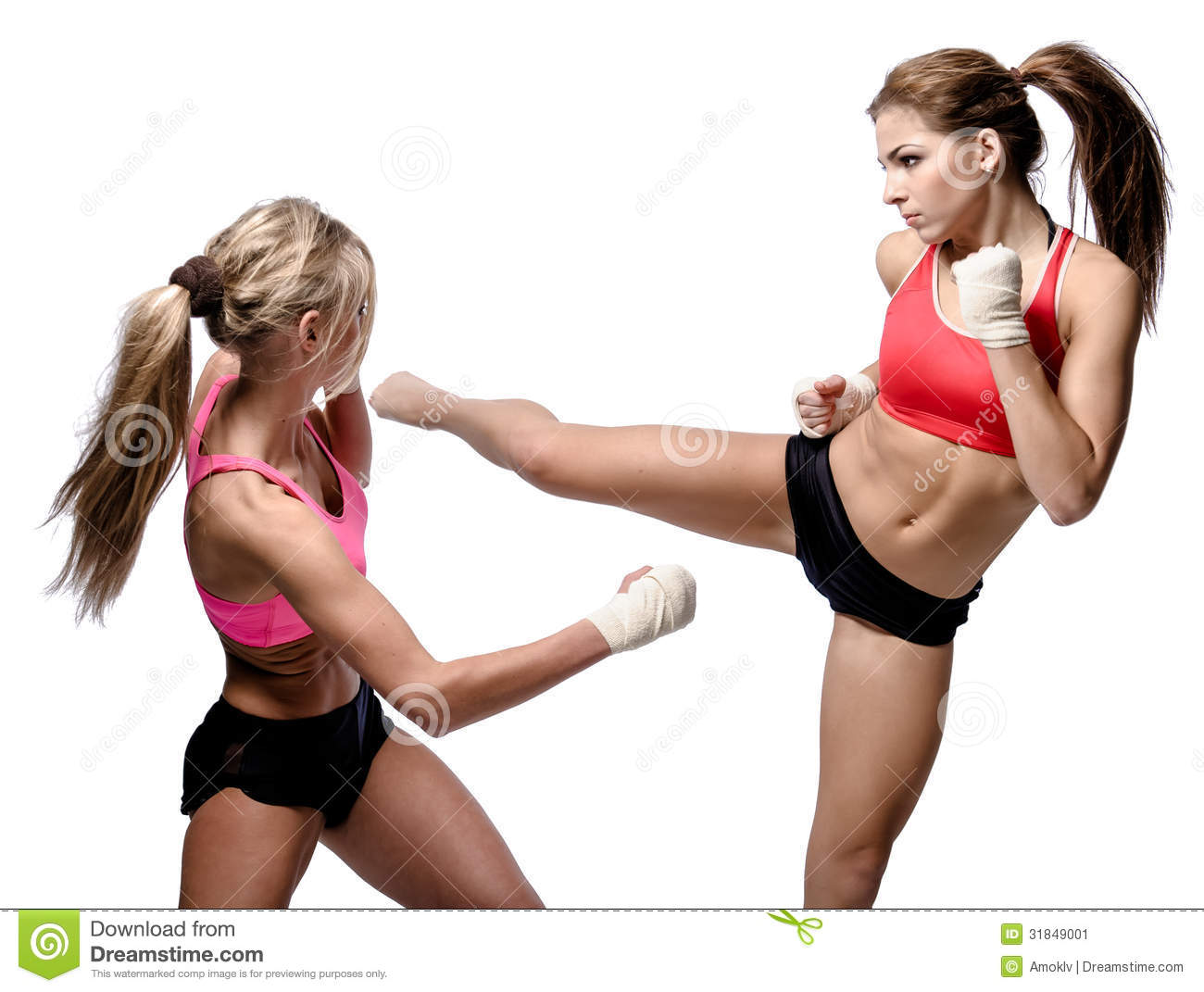 Two girls are fighting like crazy one gets fucked 10
