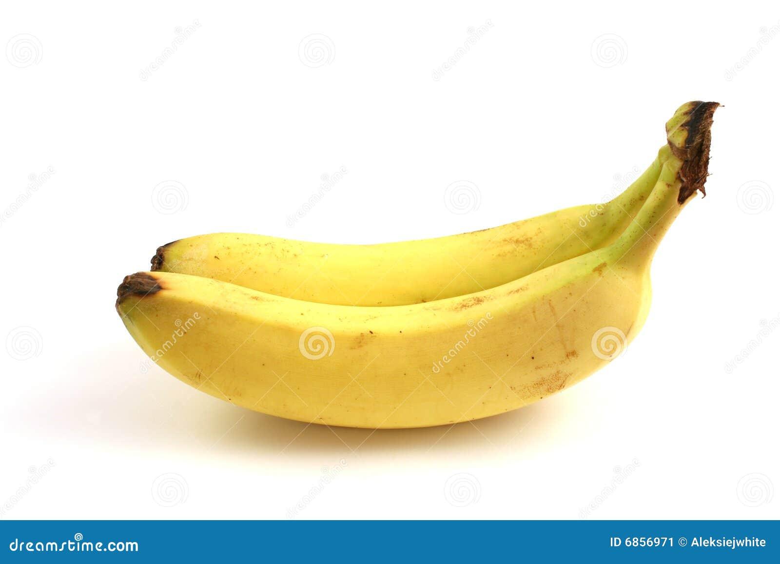 Two bananas up my fuck holes 9
