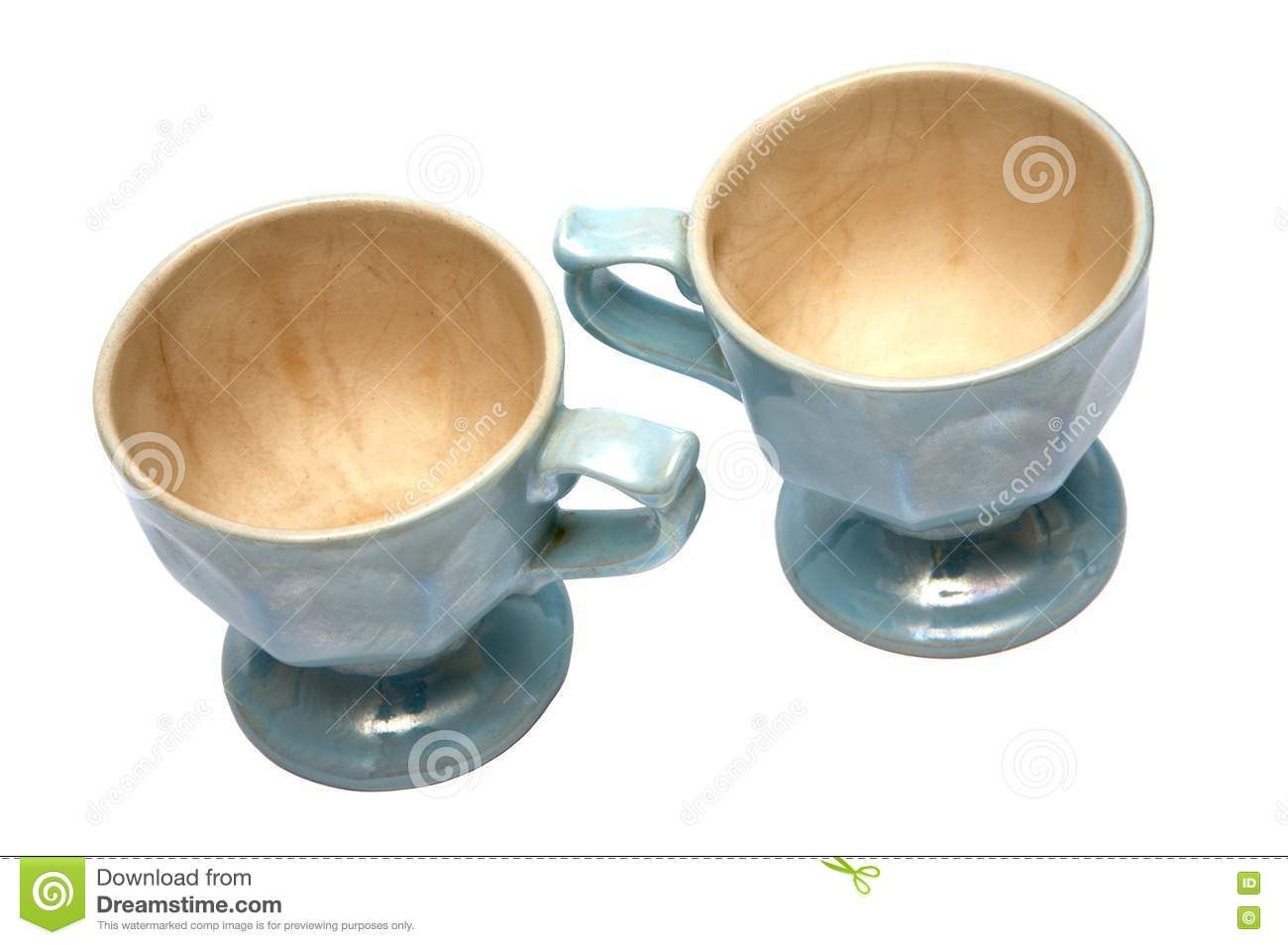 Two Beautiful Cups Royalty Free Stock Image Image 2585556