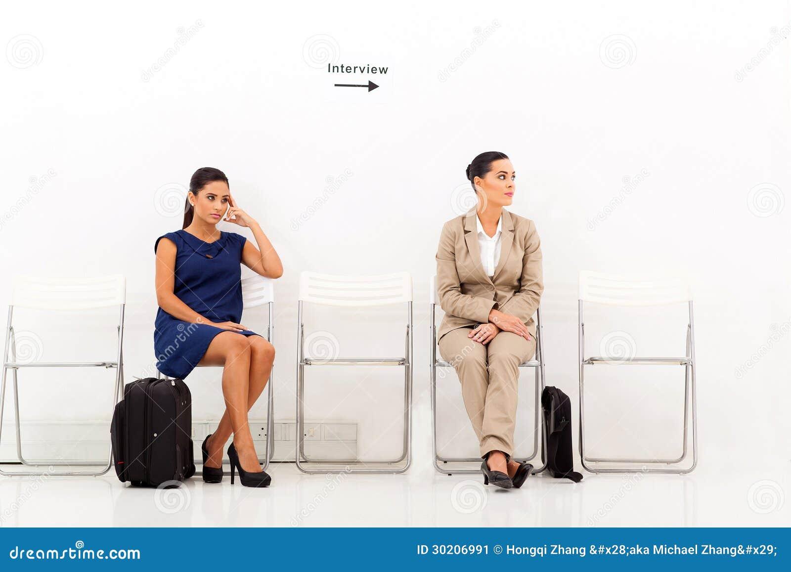 Candidates job interview