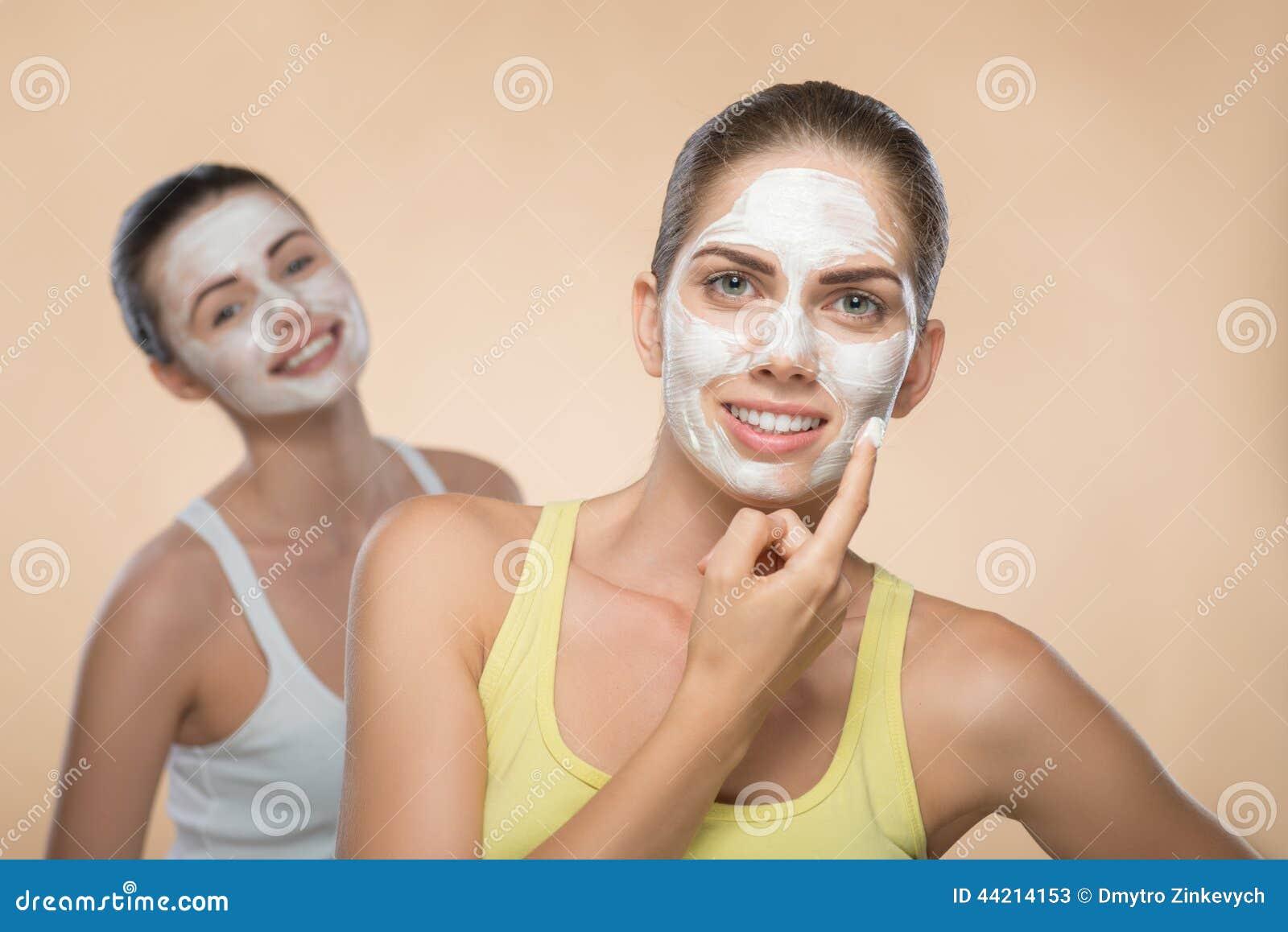 Two Facial Girls