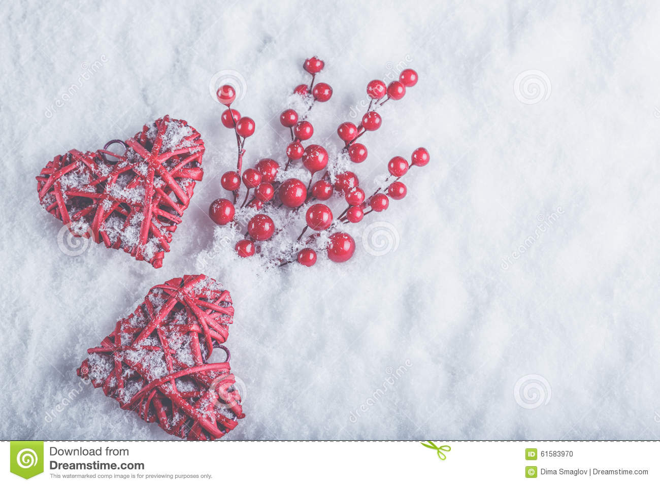 Beautiful christmas snow pictures the snow on christmas day in - Background Berries Cozy Day Hearts Love Mistletoe Red Snow