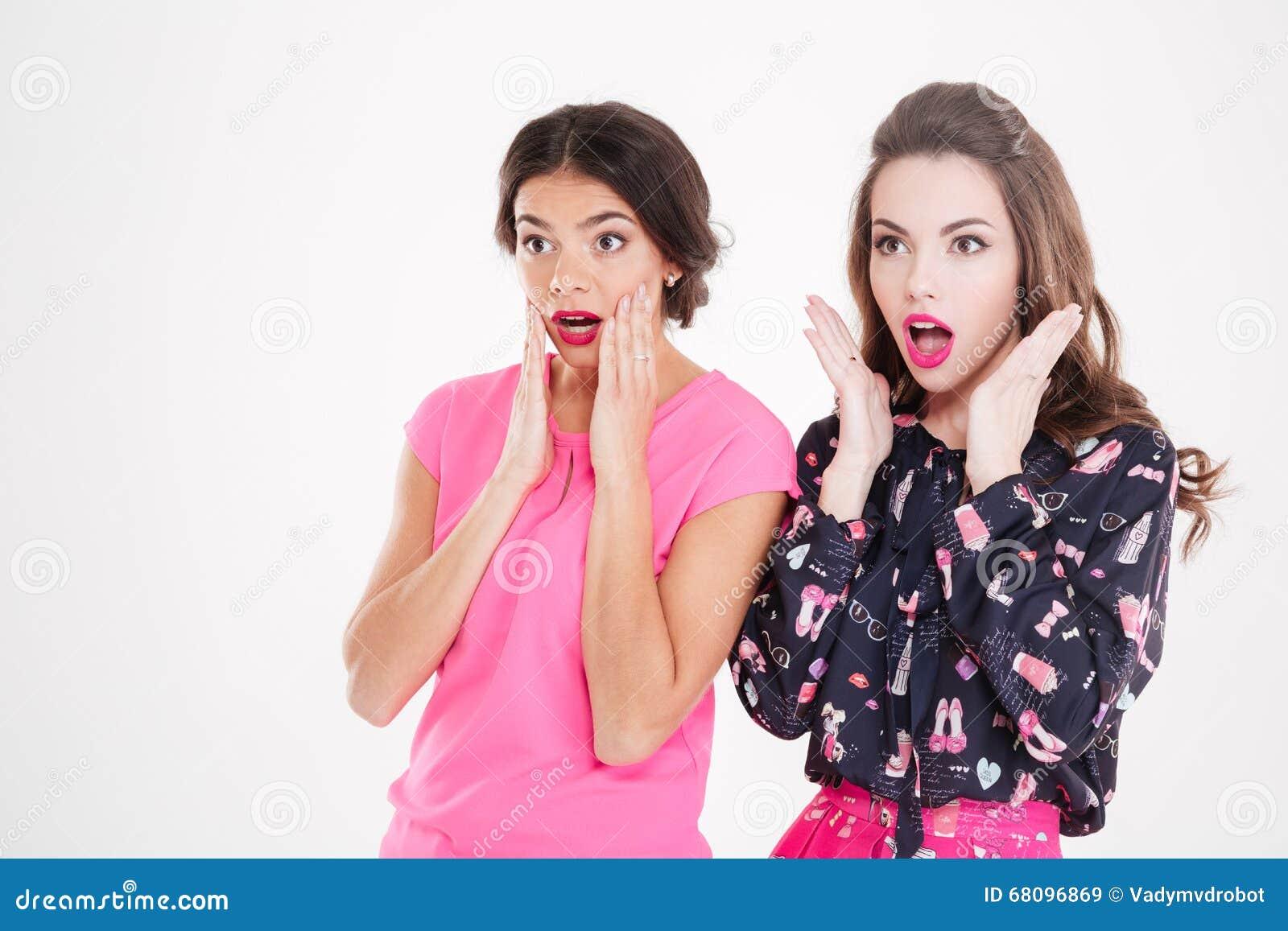 two women arguing in kitchen