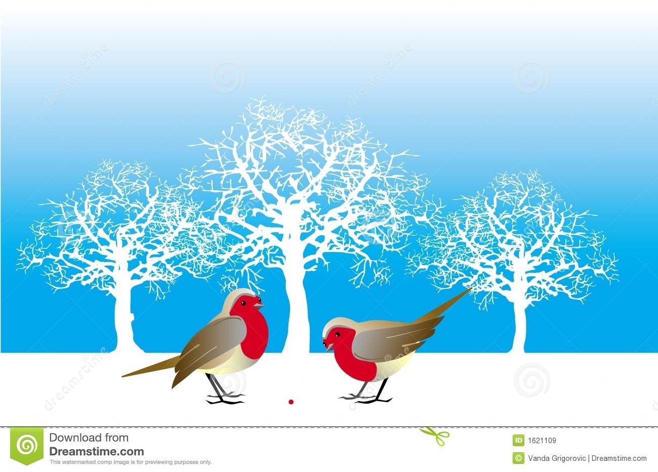 Two birds and a berry