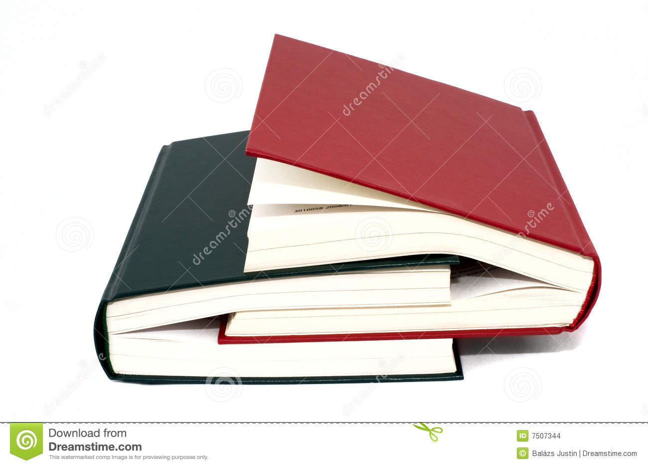 Two Books Stock Images Image 7507344
