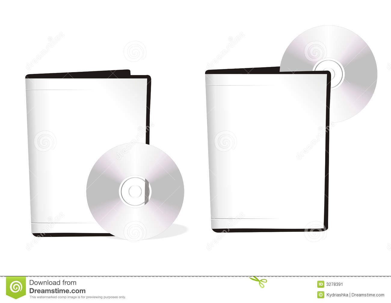 Two boxes with dvd disks