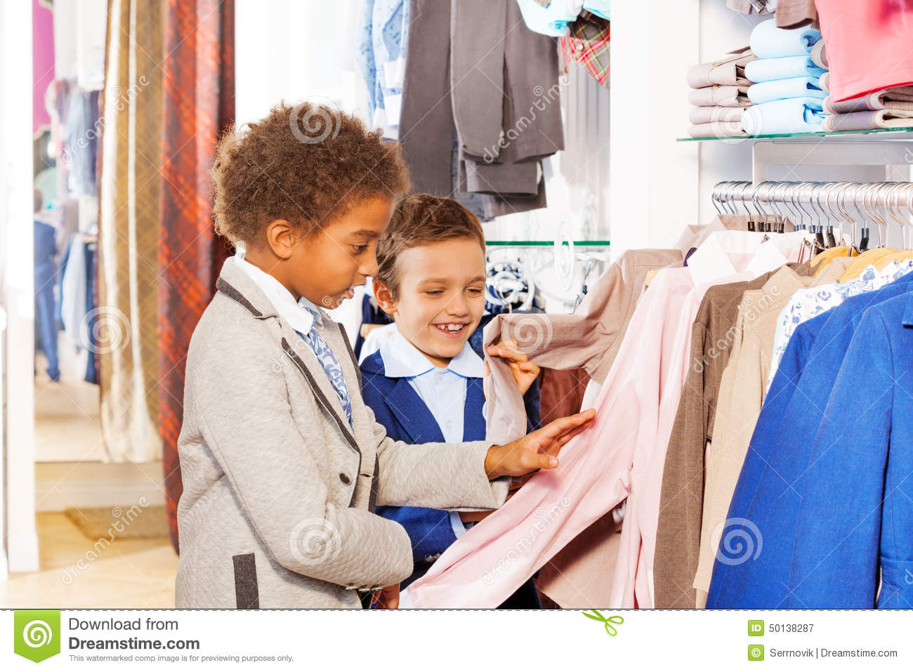 Shopping Kids Clothes