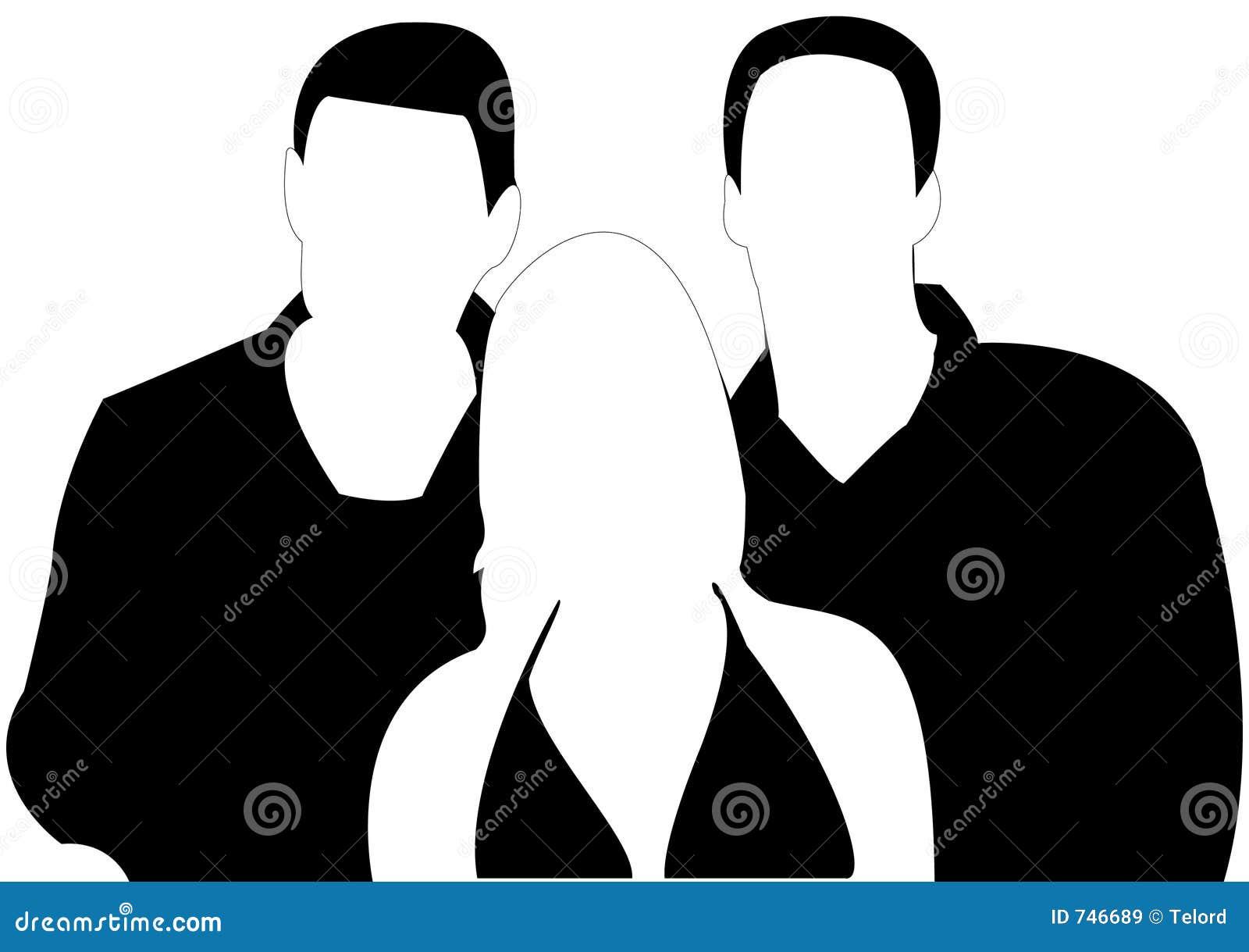 2 Boys Threesome