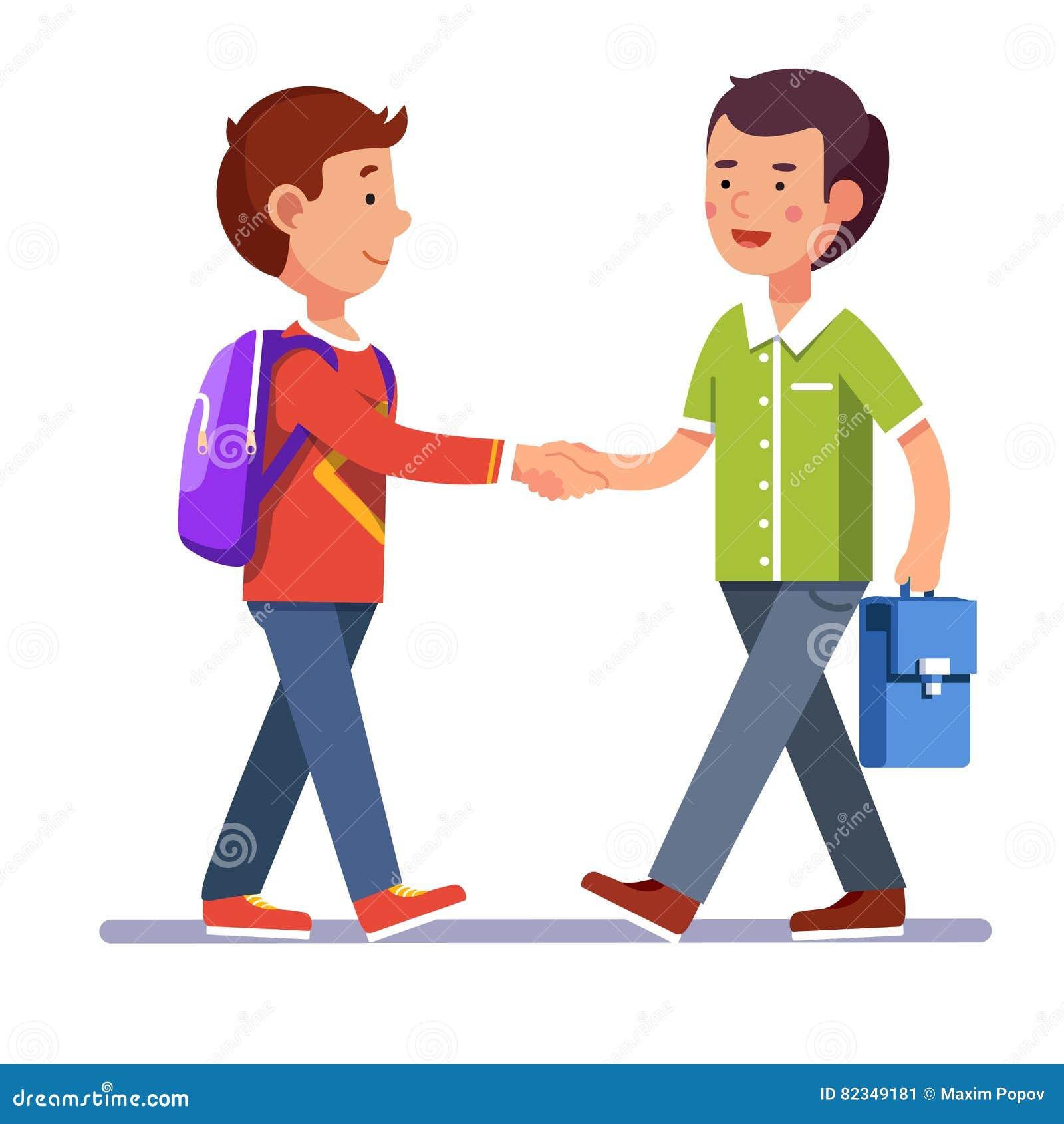 children handshake clipart - photo #40