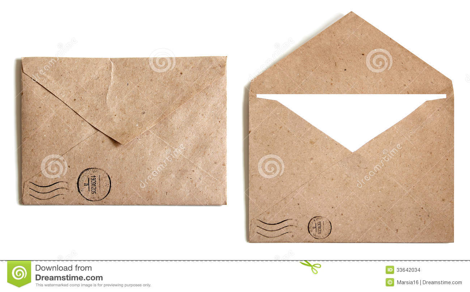 Two Brown Envelope