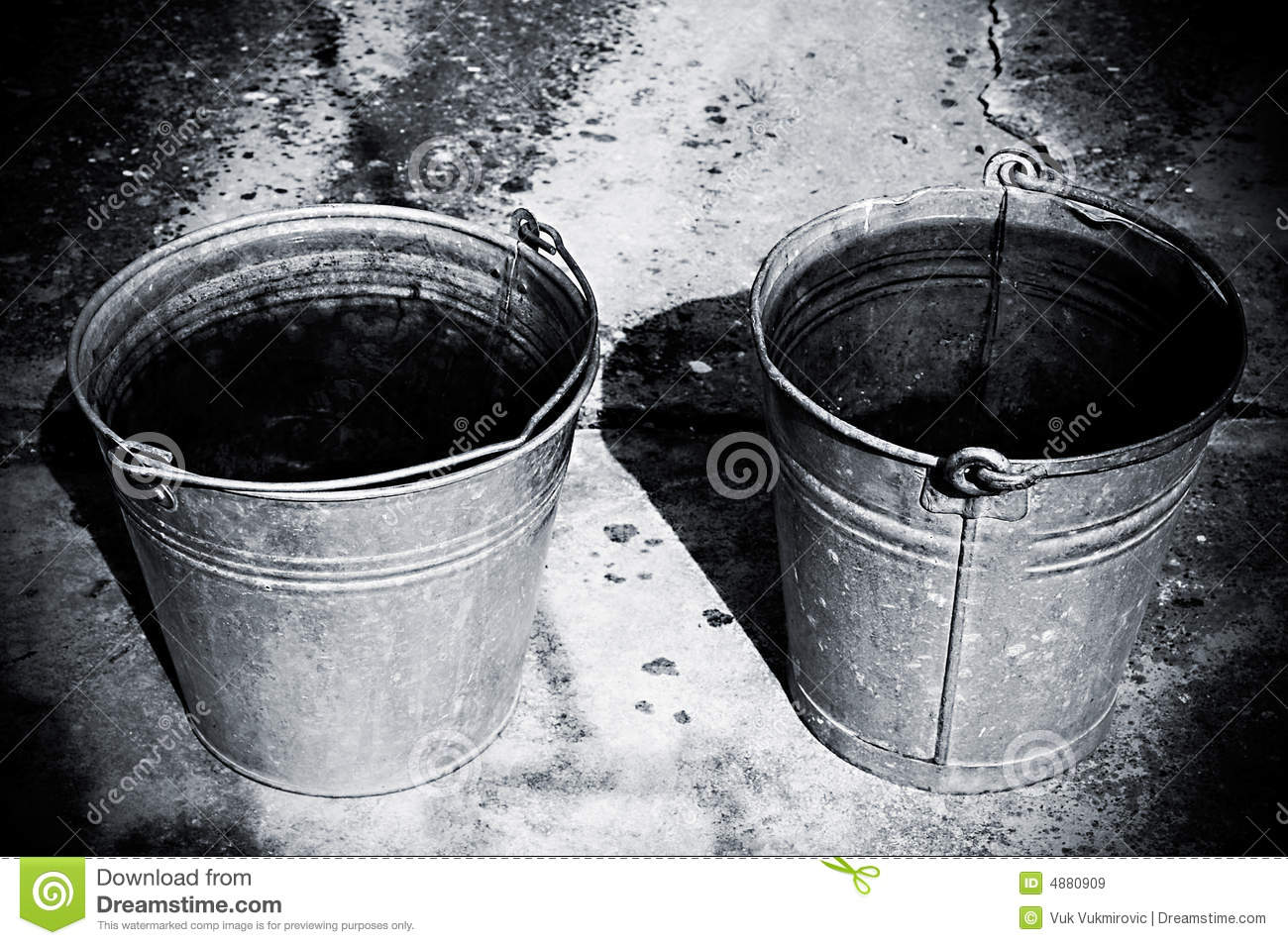 Two Buckets Royalty Free Stock Images Image 4880909
