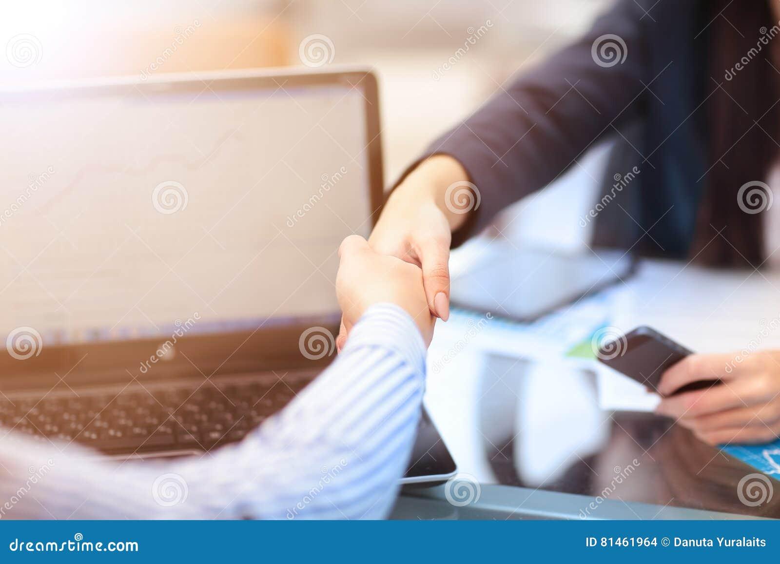 Two Businesswomen Having Informal Meeting