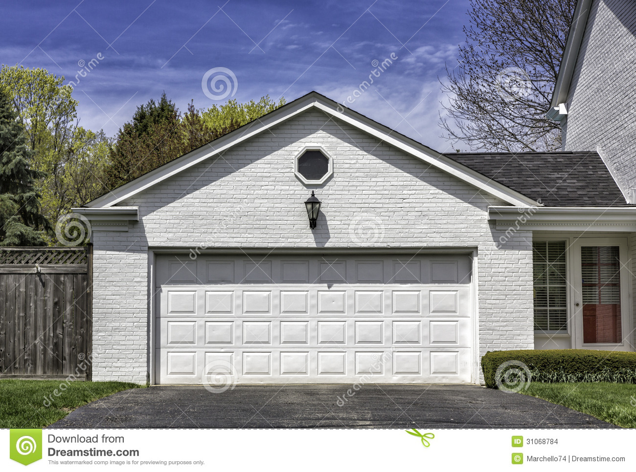 Two car wooden garage stock photo image of panel old for 18 x7 garage door