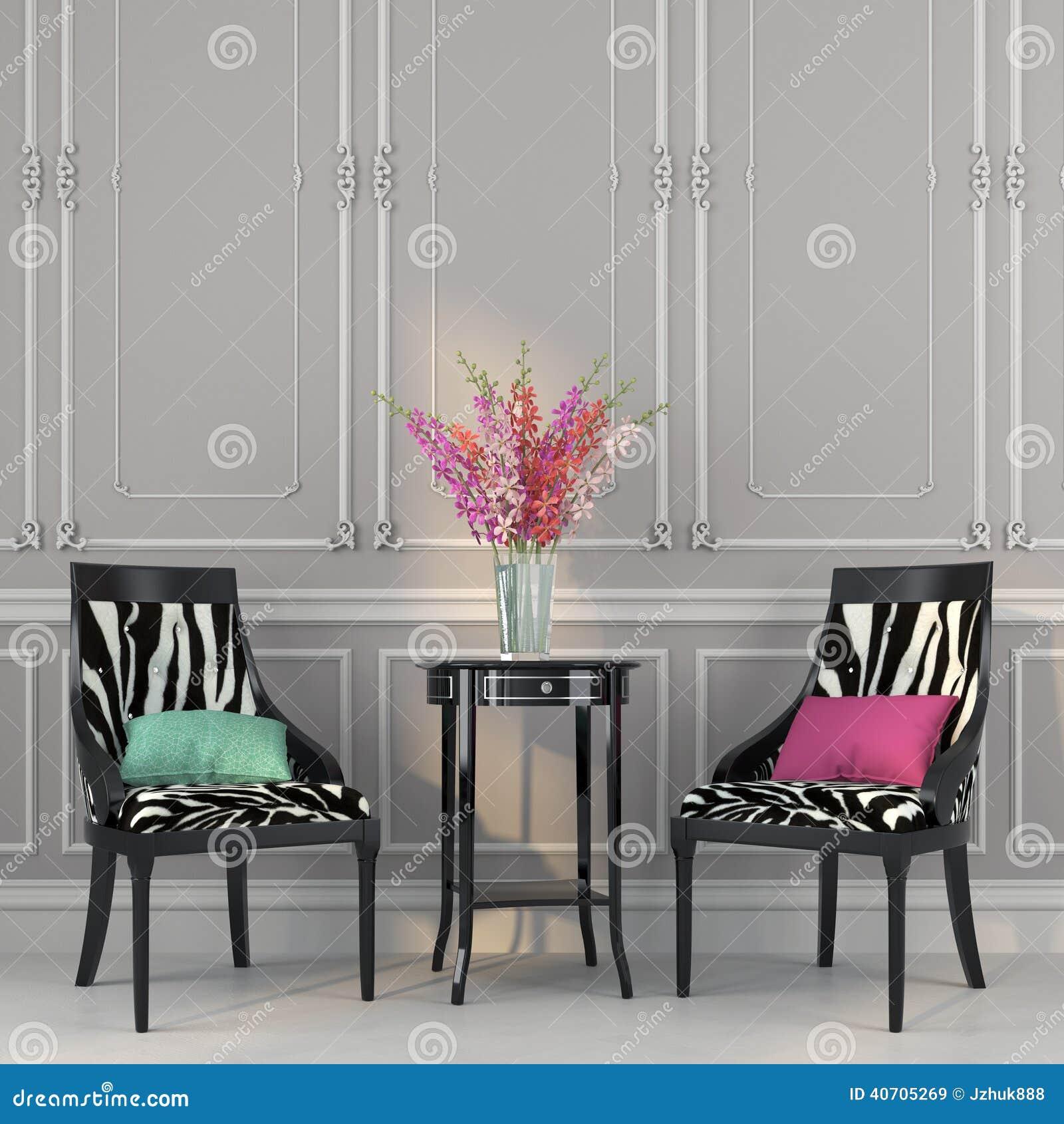Two Chairs With Zebra Print And A Table Stock Photo. Yellow Kitchenaid. Small Kitchen Sinks Ikea. Kosher Kitchen Organization. Old House Kitchen Remodel. Small Kitchen With Pantry. Kitchen Pantry Lazy Susan. Kitchen Glass Hood. Kitchen Glass Jars India
