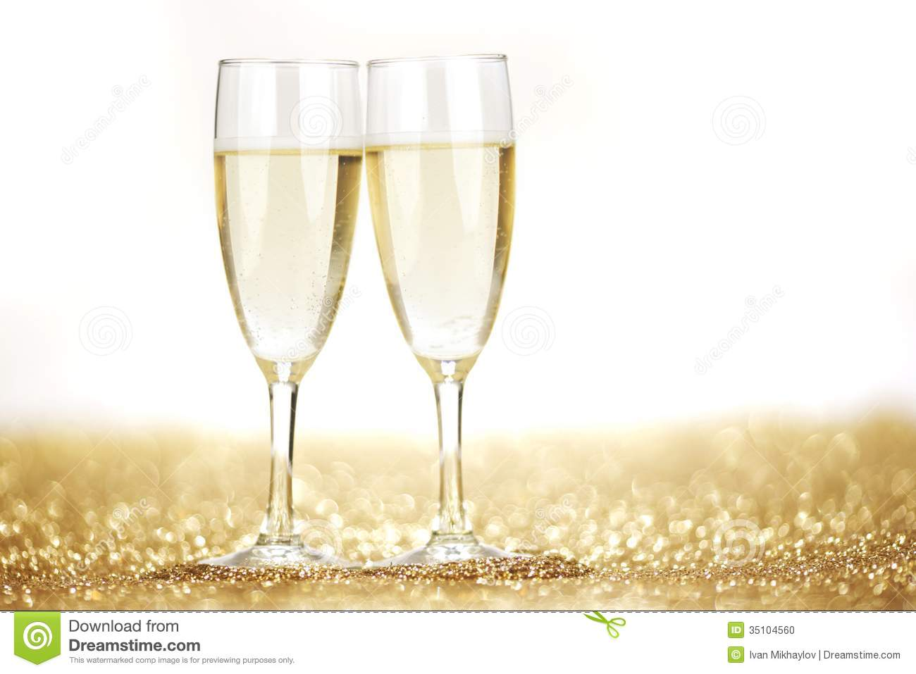 Clipart Glasses Champagne