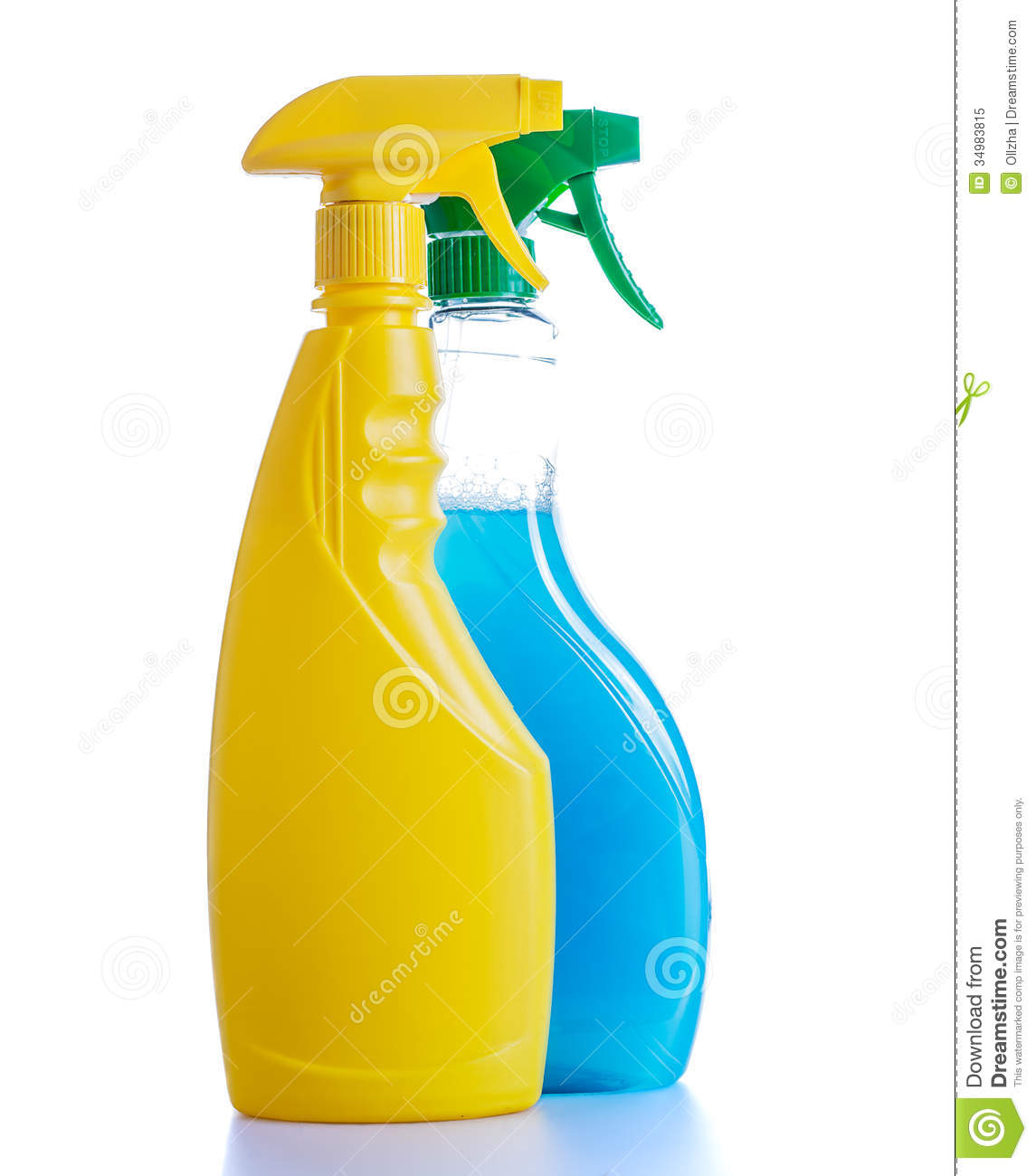 Cleaning bottles clip art - photo#14