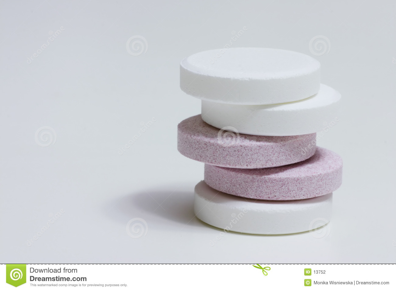 Two colors pills